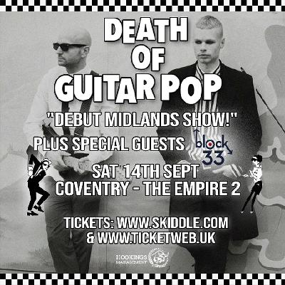 Death of Guitar Pop + special guests Block 33