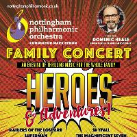 Family Concert - Heroes and Adventures!