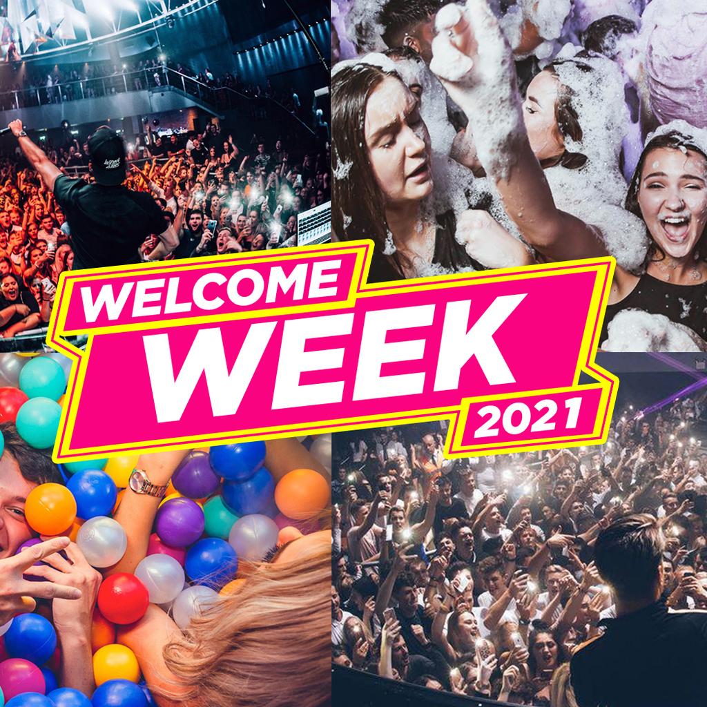 Leeds Freshers Week 2021 - Free Pre-Sale Registration