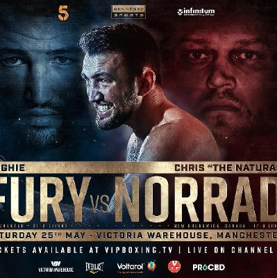 Image result for Hughie Fury vs Chris Norrad Live