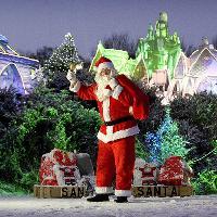 Santa at The Falkirk Wheel