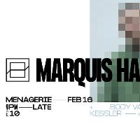 MARQUIS HAWKES (AUS / DABJ / UTTU) + Glass at The Menagerie
