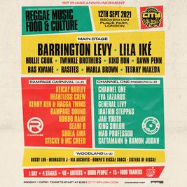 City Splash Festival - Barrington Levy, Lila Iké, Hollie Cook