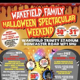 Wakefield Family Halloween Spooktackular