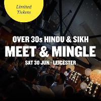 FREE Hindu & Sikh Meet and Mingle, Leicester - Over 30s