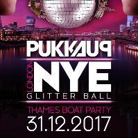 Pukka Up - NYE Thames Boat Party - Glitterball