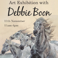 Meet Debbie Boon at The Rose Gallery