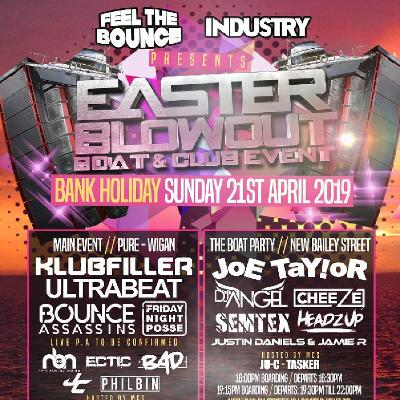 Feel the Bounce//Industry Easter blowout Boat and Club Event.