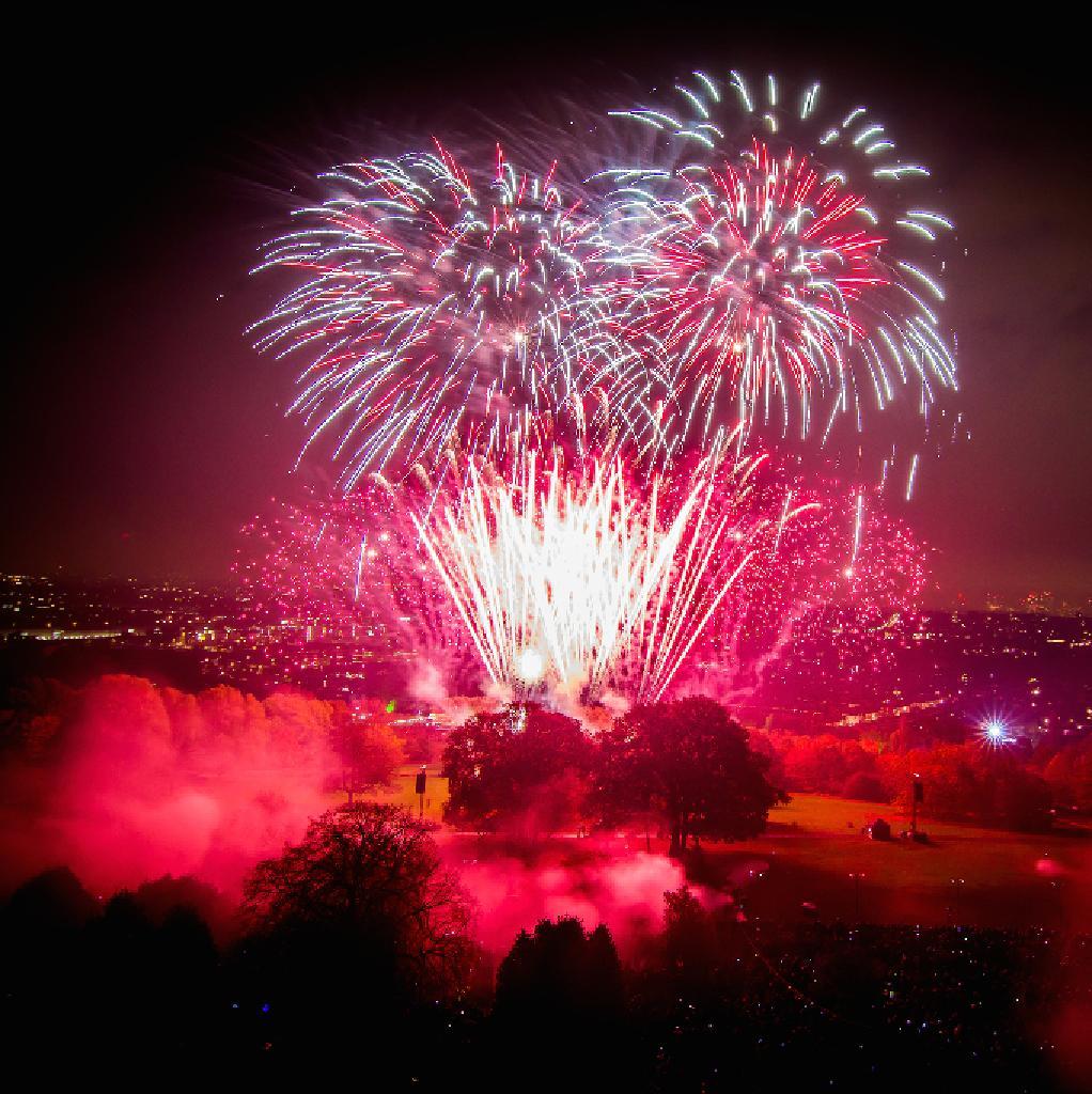 Ally Pally Fireworks Festival