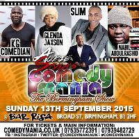 Aurie Styla's ComedyMania - Birmingham 13.9.15