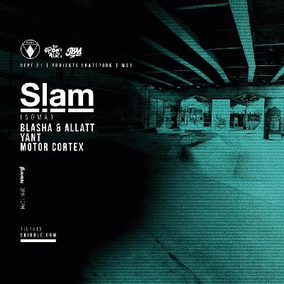 Haus 22 presents Techno at the Skate Park with Slam