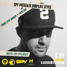 Venue: Canopy Presents: S.P.Y Dubplate Style | Frontal Lobe Warehouse Cardiff  | Fri 24th January 2020