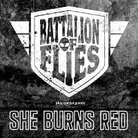 Battalion of Flies with She Burns Red and Novustory