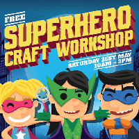 Superhero Craft Workshop