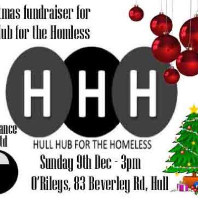 Christmas Fundraiser.Hull Hub For The Homeless Christmas Fundraiser Tickets