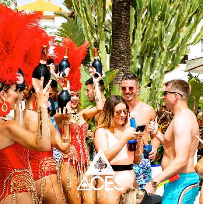 Back For Our 7th Summer Of ACES Marbella - The Biggest Saturday Day Party In Banus