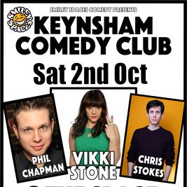 Smiley Spaces Comedy Club  Keynsham