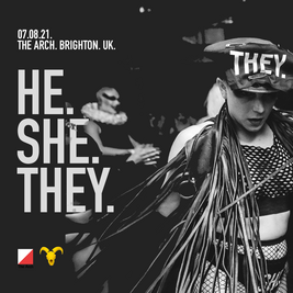He.She.They - Brighton Pride 2021