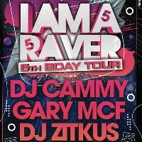 IAM A RAVER 5th Bday Tour