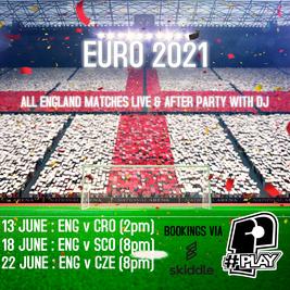 Euro 2021 - ENG V CZE