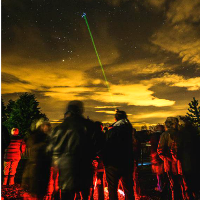 Stargazing at Brockholes