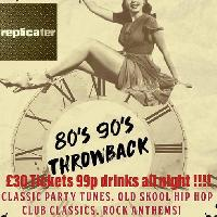 NYE 80s/90s with Replicater