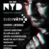 Sven Vath Presents We Are NYD with Chris Liebing & many more!