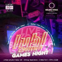 LYBL SOCIETY - GAMES NIGHT