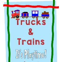 Trucks and Trains Easter Event