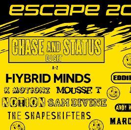 Escape 2021 Tickets | Singleton Park Swansea  | Sat 25th September 2021 Lineup