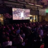 Christmas Cinema At Baltic Market