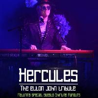 Hercules' an Elton John Tribute Supported by Shifting Rumours.
