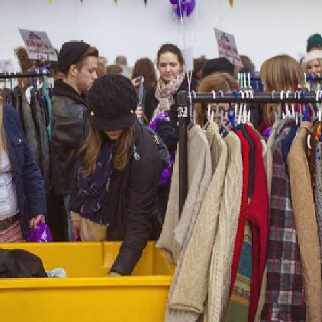 manchester vintage clothing kilo sale the union