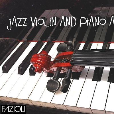 jazz violin and piano at cafe yukari