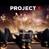 Project X | Freshers Warehouse Party | Glasgow