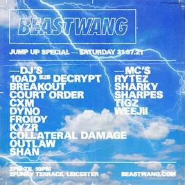 Beastwang - Jump Up Special *Sat 31st July