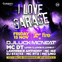 Curiosity presents I Love Garage