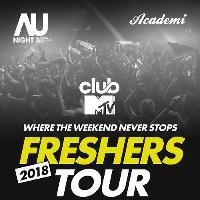 AU: clubMTV Freshers Tour! 26/09