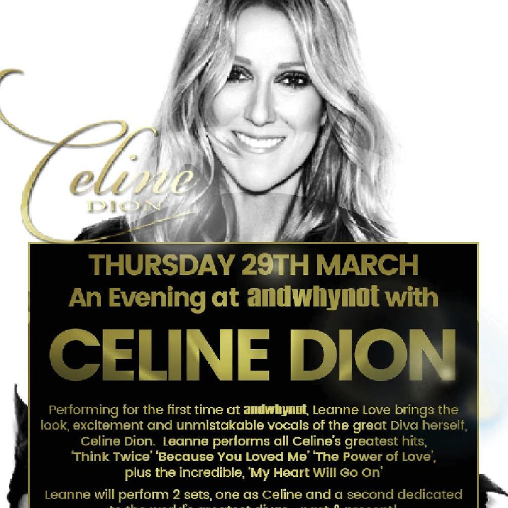 An Evening with Celine Dion...