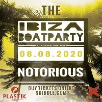Plastik Ibiza Boat Party San Antonio Harbour