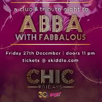 Abba Tribute Night With Fabbalous