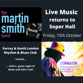 Martin Smith Band / Corazon (Santana tribute)