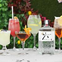 Japanese-Inspired Roku Gin Terrace at OXO Tower