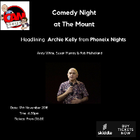 Comedy Night at The Mount Hotel Tettenhall