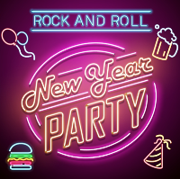 Viva Vegas Diner Rock 'n' Roll New Years Eve Party