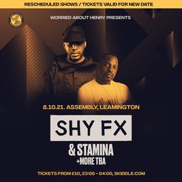WAH - Shy FX & Stamina MC + More!
