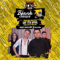blank cheque live at blind tiger bolton