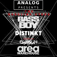 Analog Presents: The Bassline stage - BASSBOY-DISTINKT-DAWSON