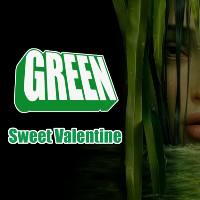 green sweet valentine