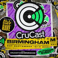 NEW DATE 2021 - 02.31 x CRUCAST - Birmingham - 18/09/2021